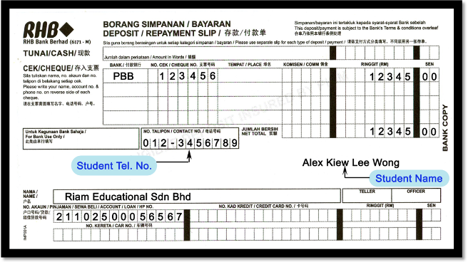 Bank withdrawal slip template for Withdrawal slip template